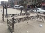 بائعو الروبابيكيا سرقوا المقاعد العامة.. «وسابوها ع الحديدة»