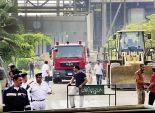 18 سيارة إطفاء سيطرت على الحريق.. والشرطة والمعمل الجنائى «كشف الغموض»