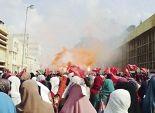 الأمن الإدارى يفض وقفة لطالبات الإخوان بـ