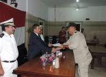 مدير أمن البحرالأحمر يعقد اجتماعا مع مجندي إدارة قوات الأمن في الغردقة