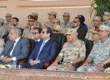 السيسي: لا يمكن لأحد كسر إرادة الشعب المصري وجيشه