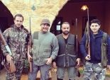 بالصور| عاصي الحلاني في رحلة صيد مع ابنه وأصدقاءه