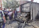 إصابة 2 في انقلاب شاحنة محملة بـ 44 طن