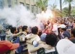قوات الأمن تفرق مسيرة إخوانية بالقرب من محكمة البساتين في المعادي