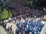 مسيرة احتجاجية لطلاب مدرسة الأورمان بالإسكندرية تنديدا بحادث البحيرة