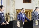 «إعلان القاهرة»: إعادة ترسيم الحدود البحرية.. وتحذير لتركيا