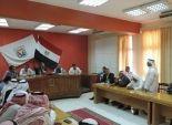 بالصور| مدير البحث الجنائي في جنوب سيناء يلتقي مشايخ بدو