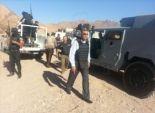 مجموعة إرهابية تتسلل من شمال لجنوب سيناء وتفشل فى اغتيال رئيس المباحث