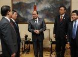 بالصور| السيسي يستهل اجتماعاته في بكين برؤساء الجامعات الصينية
