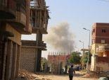 عاجل بالصور| انفجار عبوتين ناسفتين قرب مدرعتين جنوب العريش