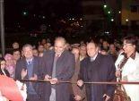 محافظ الشرقية يفتتح النافورة الموسيقية أمام ديوان عام المحافظة