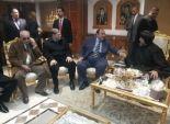 بالصور|محافظ القليوبية في كنيسة شبرا مصر في حاجة لتعزيز المصلحة العامة
