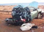 مصرع أسرة كاملة في حادث على الطريق الدولي بكفر الشيخ