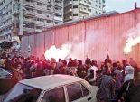 قطع طرق وإطلاق شماريخ على الأهالى واشتباكات مع الشرطة فى المحافظات