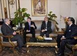 بالصور| رئيس الوزراء يلتقى الرئيس التنفيذى لشركة DHL العالمية