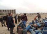جهود شبابية تنهي أزمة إسطوانات الغاز في أسيوط