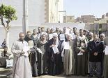 أهالى أشمون يتظاهرون احتجاجاً على «الدائرى الإقليمى»