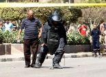 عاجل| إصابة أحد أفراد الحماية المدنية في انفجار قنبلة بالشرقية