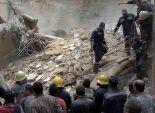 عاجل| انهيار عقار من 3 طوابق في أسيوط