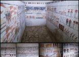 بالصور| اكتشاف مقبرتين أثريتين في سقارة تعودان لعصر الأسرة السادسة