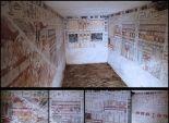 اكتشاف مقبرتين أثريتين تضمان هياكل عظمية في