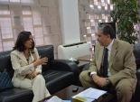 بالصور| وزير البيئة يلتقي الممثل المقيم لبرنامج الأمم المتحدة الإنمائي