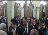 تداول صور لعلاء وجمال مبارك أثناء تقديم واجب العزاء لبكري بـ