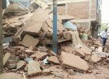 بالفيديو| لحظة انهيار منزل بمنطقة عرب المعادي وسط حسرة ساكنيه