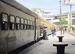 استئناف حركة القطارات بخط
