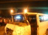 بالفيديو| التفاصيل الكاملة لحادث سقوط ميكروباص بـ