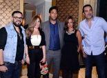 بالصور| نجوم الفن والرياضة في حفل افتتاح مطعم النجمين حازم إمام وميدو