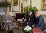 محلب يلتقي بابا الروم الأرثوذكس في الإسكندرية وسائر إفريقيا