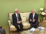 بالصور| وزير الإعلام الجزائري يزور النايل سات