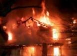 حريق فى جراج قسم شرطة بولاق الدكرور