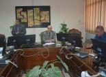 بالصور  نائب رئيس جامعة الفيوم يلتقي وفد وزارة التعليم العالي