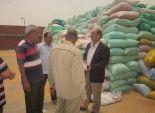 وكيل وزارة الزراعة بالشرقية يتابع عمليات توزيع الأسمدة وتوريد القمح