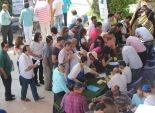 توافد الناخبين للإدلاء بأصواتهم بانتخابات نقابة المهن التمثيلية