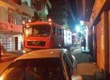 إصابة 2 في حريق منزل بدمياط