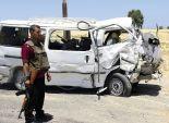 الإرهاب يستهدف سيارة مجندين بعبوة ناسفة على طريق العريش الدولى
