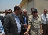 بالصور|وزيرا البيئة والتموين يتفقدان إحياء منطقة الأسواق  في البساتين