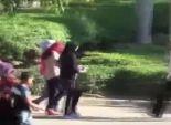 بالفيديو| صبي يتحرش بفتاة خلال احتفالات العيد في حديقة الأزهر