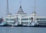 قوات بحرية بمبنى هيئة قناة السويس ضمن تأمين جانبى المجرى الملاحى