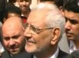 جرح قطعى في يد مندوب أبو الفتوح بعد مشاجرة مع أنصار شفيق في نبروه
