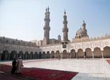 جامع الأزهر يشهد حالة من الهدوء عقب صلاة الجمعة