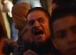 أقارب مقبوض عليه في واقعة حرق نقطة شرطة العتامنة يقطعون طريق سوهاج أسيوط الزراعي