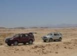 تويوتا فورتشنر 4X4 فى اختبار قيادة صعب بصحراء الغردقة