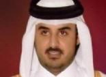 تميم بن حمد: نؤيد التعبير عن تطلعات الشعب المصري