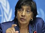بيلاي قلقة بشأن اعتقال قيادات بجماعة الاخوان المسلمين في مصر