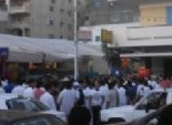 أهالي مطروح يعتصمون داخل خيمة بالضبعة مطالبين بالإفراج عن المحكوم عليهم من أبناء المحافظة