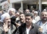 عمال «مختار إبراهيم» يتظاهرون أمام «القابضة للتشييد» لإعادة تقييم أسهم الشركة